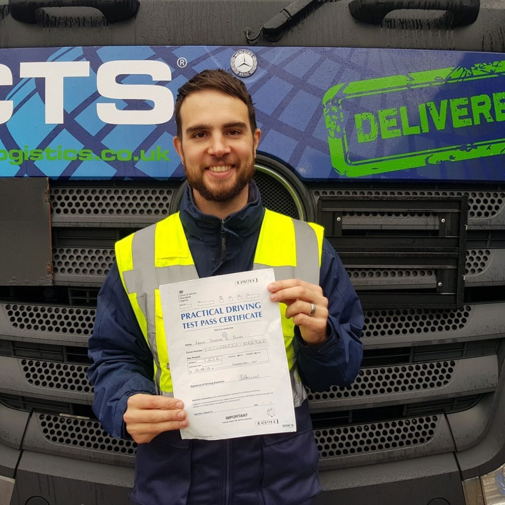 CTS Group   Earn while you learn HGV training